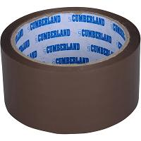 CUMBERLAND PACKAGING TAPE 45 MICRON 48mmx50m BROWN PACK OF 6