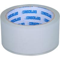 CUMBERLAND PACKAGING TAPE 45 MICRON 48mmx50m CLEAR PACK OF 6