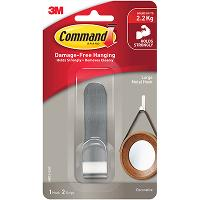 3M COMMAND METAL HOOK MR13-SSW LARGE