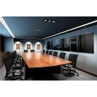 LUMIERE MAGNETIC GLASSBOARDS WHITEBOARDS 1200 X 600mm BLACK