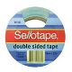 SELLOTAPE DOUBLE SIDED TAPE 18mmx33m 404 523608