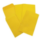 P7 SEED 145x90mm GOLD SELF SEAL ENVELOPES